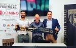 Emanuele Sichera, al centro, nuovo responsabile del progetto futsal della Torinese