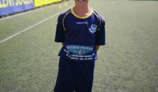 Andrea Castagneri, bomber dello Spazio Talent Soccer