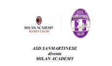 Sanmartinese diventa Milan Academy
