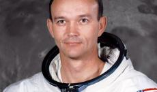 Michael Collins nel 1969, pochi mesi prima il viaggio dell'Apollo 11