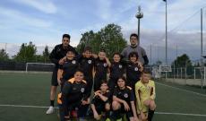 Olympic Collegno - i nove Pulcini Misti nell'amichevole di sabato col Villarbasse