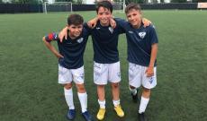 De Luca, Florio e Persico, i tre alfieri del Chisola autori dei gol sull'Alpignano