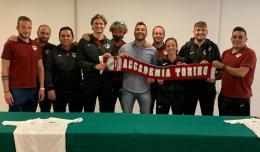 L'Accademia Torino del neo RSC Alessandro Curto: novità Alex Sottile ai 2012 e Tommaso Coniglio preparatore atletico