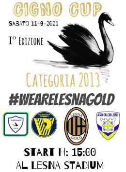 Al Lesna Gold una giornata col sorriso: è la prima edizione dalla Cigno Cup