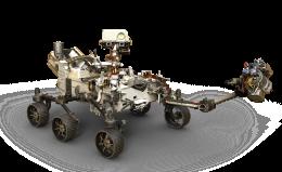 Il rover Perseverance ha raggiunto il suolo di Marte