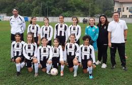 Femminile Juventus negli Esordienti Misti, la crescita continua