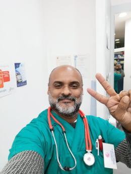 Shanaka, l'infermiere-allenatore con il gioco di squadra nelle vene