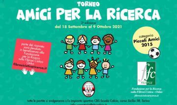 banner Torneo Amici Per La Ricerca