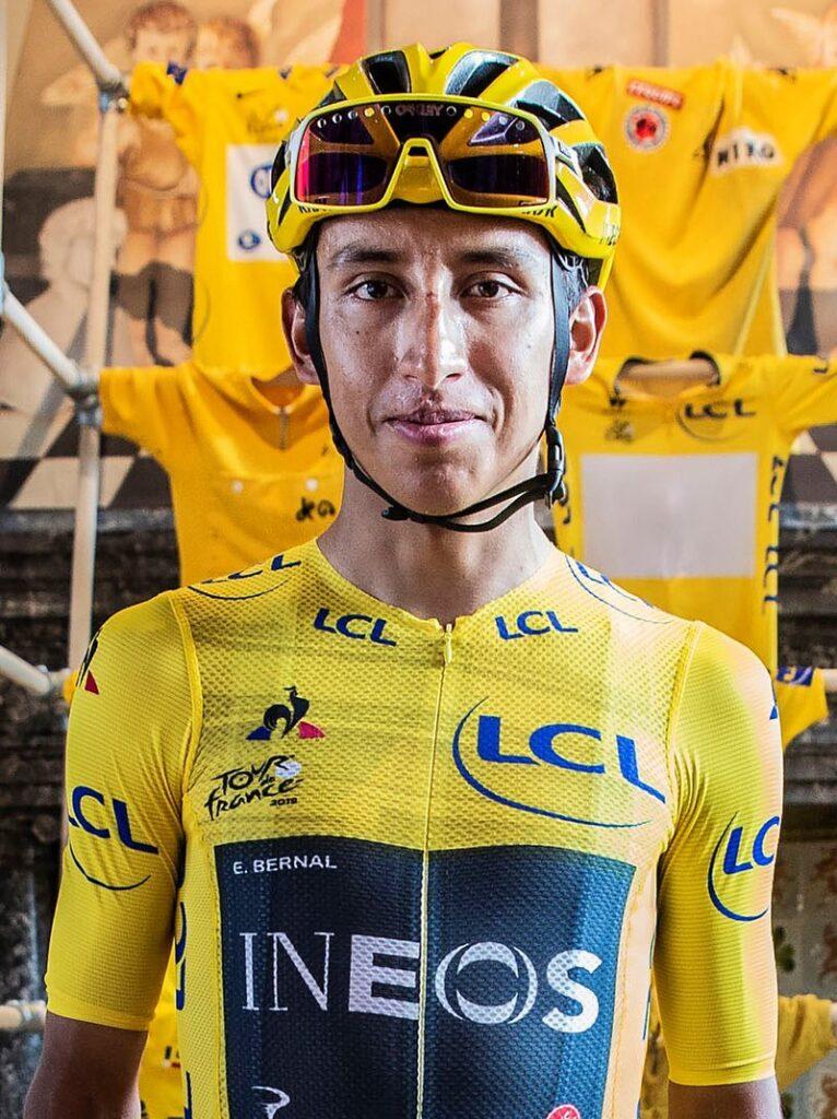 Egan Bernal è il favorito numero uno del Giro d'Italia (foto wikipedia.org)