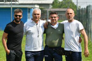 Da sinistra: Fabrizio Oranges, Michele Avolio, Rocco Claudio Maggio, e Stefano Caporaso